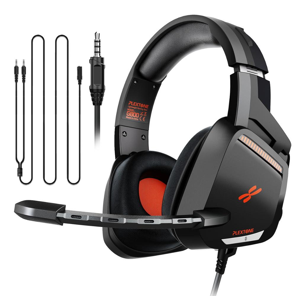 PLEXTONE G800 Original Gaming Headset Wired Game Headphones With Micphone Good Quality Avaible