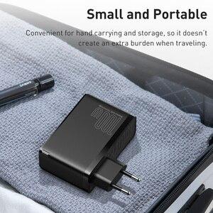 Image 5 - Baseus MacBook,ラップトップ,スマートフォン用の高速USB充電器,100W,4.0 USB電話充電器,急速充電3.0