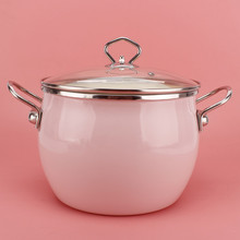 Soup-Pot Composite Good The-Material Good-The-Quality High-Style Multi-Layer Is Enamel