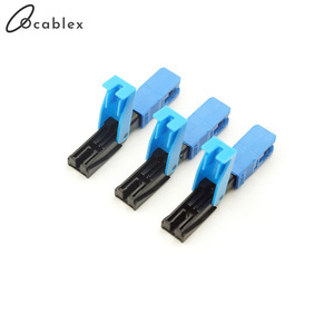 Image 4 - High Quality Quick Connector FTTH SC UPC Optical fiber covered wire SC UPC FTTH Fiber Optic Fast Connector SC Connector