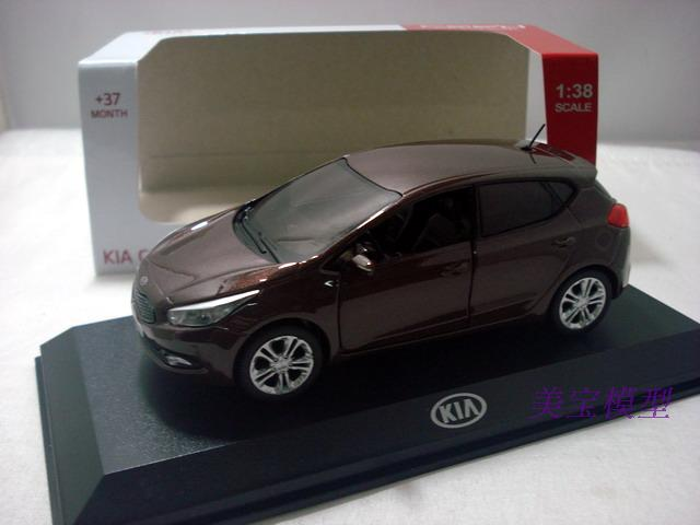 1:38 Diecast Model For KIA CEE'D Ceed Hatchback Alloy Toy Car Miniature Collection Gifts