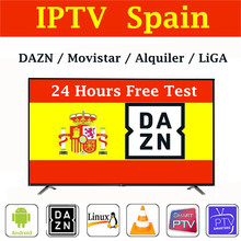Stable IPTV espagne m3u abonnementom espagne DAZN LIGA Football Movistar Alquiler pour smart TVBox smart IPTV smarters Android TV MAG(China)