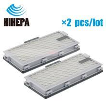 2 pcs HEPA מסנן עבור Miele S4 S5 S6 S8 סדרת שואב אבק חלקי fit Miele HEPA AirClean SF HA 50,SF AA50,SF HA50,SF AAC 50