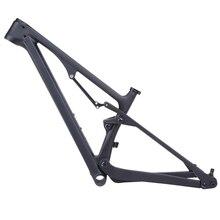 무료 배송 2019 27.5er 29er 모든 산 Enduro 탄소 전체 서스펜션 프레임 자전거 148*12mm 부스트 MTB 산 XC 자전거 27.5 +