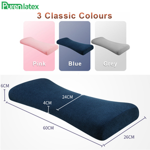 Image 5 - Purenlatex Lumbar Pillow Memory Foam Bed Back Support Multi functional Waist Cushion for Lower Back Pain Sleeping Side Lying Hip