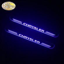 Светодиодный ная Накладка на порог для Chrysler 300 300C SRT8