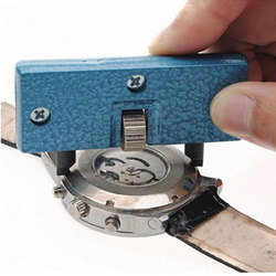 Repair table tool portable two - pin large - caliber table opener open the back cover of the watch for battery tool round mouth