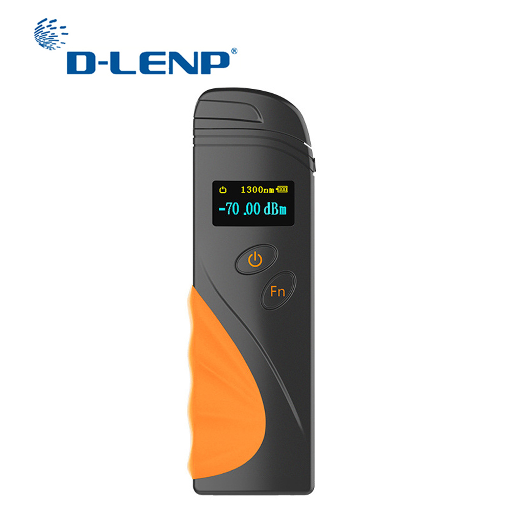 DLENP 1 Piece FTTH High Precision Handheld Mini Fiber Optical Power Meter -70+3 DBm Fiber Optical Cable Tester