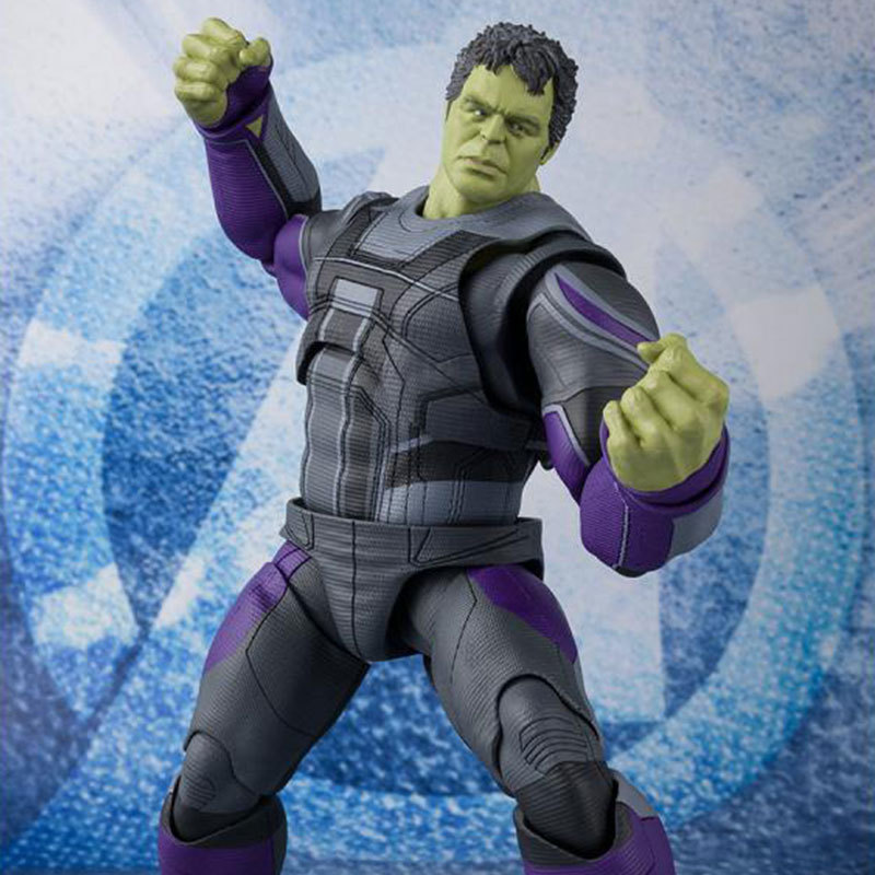 22cm SHF Marvel Avenger Action Figures Super Heroe Bruce Banner Hulk Action Figure Gifts Toys