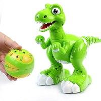 New Smart Remote Control Toys Fog Spray Dinosaur Multifunctional Light Music Dancing Toys Children Intelligent Electric Toys 1