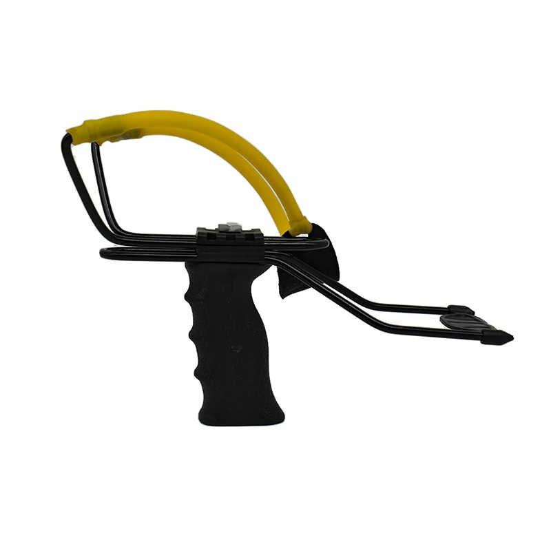 Leistungsstarke Handgelenk Brace Unterstützung Schuss Slingshot-katapult für Jagd Haltegriff Schießen Schleuder kinder Spiele Im Freien