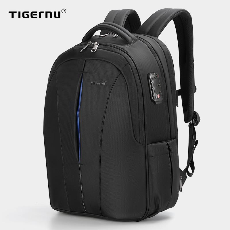 Tigernu Splashproof 15.6inch Laptop Backpack NO Key TSA Anti Theft Men Backpack Travel Teenage Backpack bag male bagpack mochila|laptop backpacks men|men backpackmens backpack brands - AliExpress