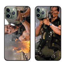 Arnold Schwarzenegger Commando movie 1985 Zwart siliconen soft telefoon case voor Apple iphone 11 Pro Max 11Pro 11proMax(China)