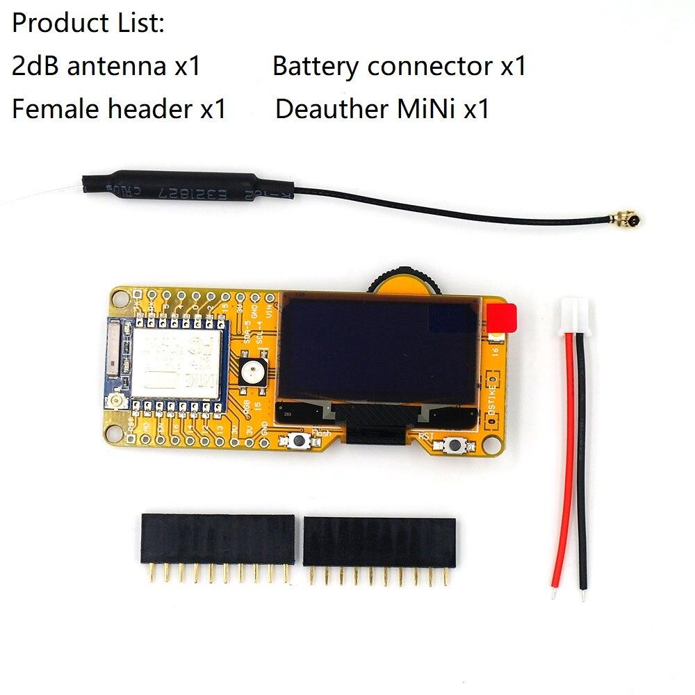 DSTIKE واي فاي Deauther MiNi ESP8266 مع 1.3