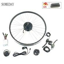 Когда-нибудь 48V500W Электрический велосипед конверсионный комплект с KT LED900S Дисплей задняя часть электровелосипеда вращающийся концентратор мотор комплект со спицей и ободом