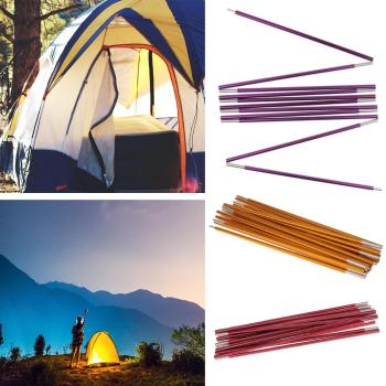 Outdoor Backpacking Aluminium Alloy Awning Tent Poles Bar Travel Camping Hiking Picnic Tents Accessories 1