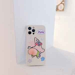 Image 5 - Leuke Zeester Butt Zachte Case Voor Iphone 12 Pro Max Xr 7 8 Plus Xs X Mooie Squeeze Speelgoed Reliever siliconen Cover Se 2020 11 Pro