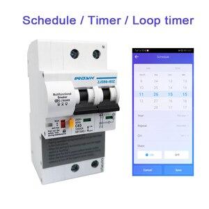 Image 3 - Ewelink Wifi 2P 63A Smart Stroomonderbreker Schakelaar Met Energie Monitoring Stroomverbruik Monitor Meting Werken Met Alexa