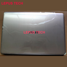 New original lcd back cover for ASUS N580 X580 top case gold silver color
