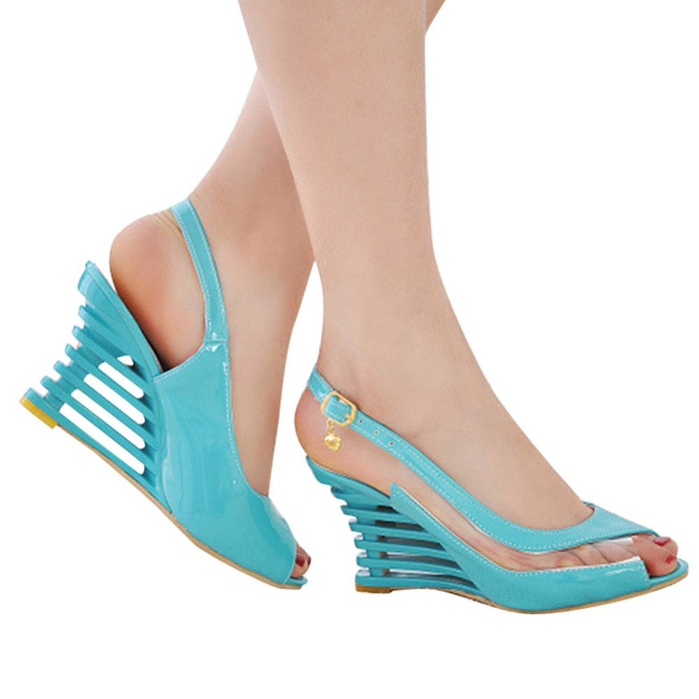 Flat-Buckle-Peep-Toe-Wedges-Comfort-Lightweight-Heel-High-Heel-Wear-resistant-Women-Ssandals-Shoes (1)