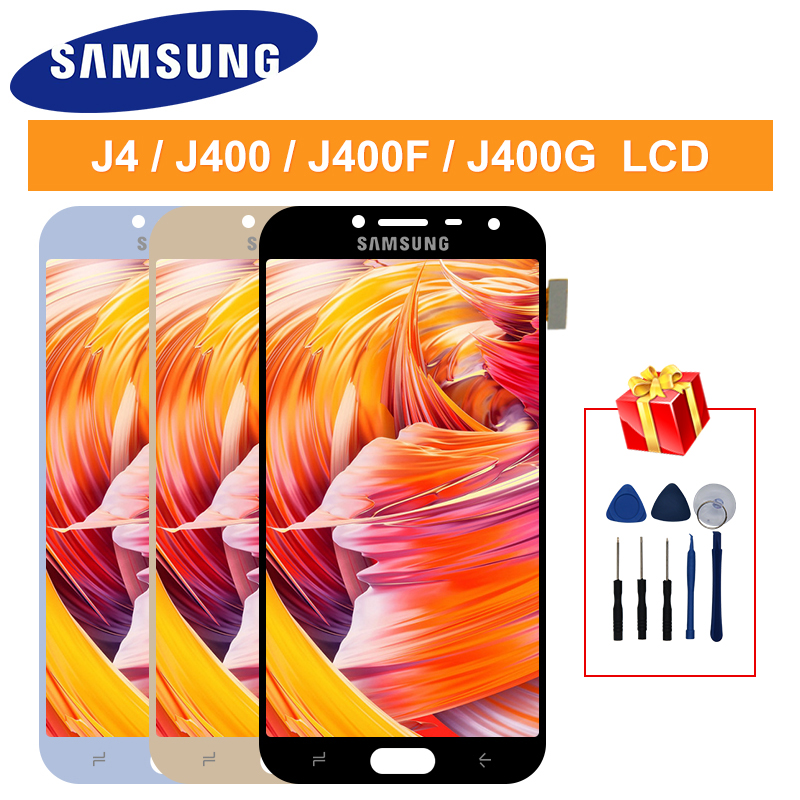 LCD J4 2018 For Samsung Galaxy J400F J4 J400 J400G/DS SM-J400F LCD Display J4 2018 Touch Digitizer J4 2018 Screen Assembly Parts
