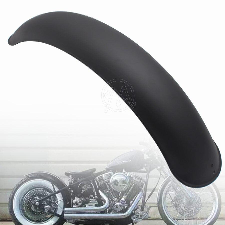 1 pièces moto ancienne école rétro arrière mat noir métal garde-boue couvercle protecteur universel pour Harley Bobber café Racer
