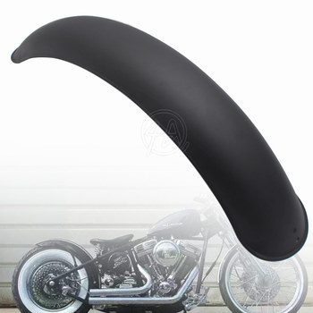 1pcs Motorcycle Old School Retro Rear Matte Black Metal Fender Mudguard Cover Protector Universal for Harley Bobber Cafe Racer