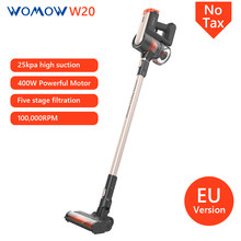 Womow Cordless Vacuum Cleaners 25000pa Powerful Suction Stick Handheld Wireless Vacuum Cleaner W20 Vs Ilife Not Steam mop Home