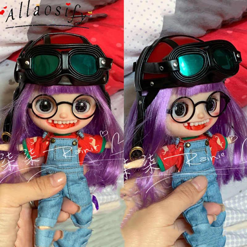 Dollmore Blythe 1//3 1//4 1//6 BJD Goggles Headwear Leather Belt Doll Accessory