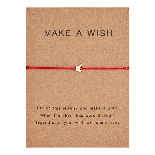 10*7,5 см Загадай перец узкое платье тканые регулируемый браслет Модные украшения подарок для Для женщин, Для мужчин, для детей - Окраска металла: BR18Y0390-2