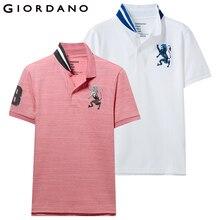 Camiseta Polo Para Hombre con diseño bordado de 2 Polos de manga corta elásticos Para Hombre marca de verano tops