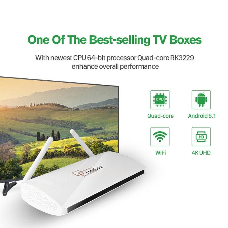 QHDTV 1 Year IPTV France Arabic Leadcool Europe Arabic IPTV Box French Belgium Dutch Netherlands Smart Android IP TV Set Top Box