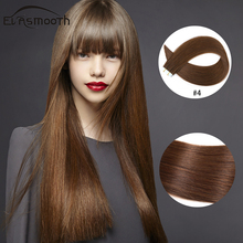 Hair-Extensions Skin-Weft-Tape Adhesives Remy Human Pu 12-16-20-20pcs Straight