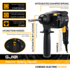 DEKO 220V 26mm 4 Functions AC Electric Rotary Hammer with BMC and 5pcs Accessories Impact Drill Power Drill Electric Drill 2