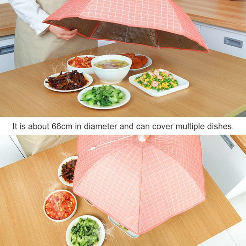 Large Size Mesh Screen Food Cover Tents Folding Reusable Outdoor Picnic Food Net Tent Umbrella Protect Your Food