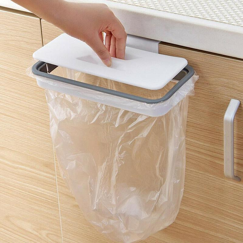 Настенный пластиковый держатель для мусорных пакетов