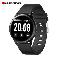 RUNDOING KW19 smart watch 1.3 inch screen Heart Rate Blood Pressure Waterproof for IOS and Android