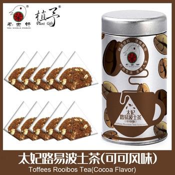 3g*10pcs Toffees Rooibos Tea(Cocoa Flavor) Skin Care Mask DIY Raw Materials Tea Bag natural beauty Acne Treatment Moisturizing