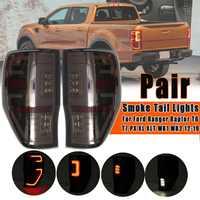 Pair LED Tail Light Energy Saving Rear Tail Light Lamp For Ford Ranger Raptor T6 T7 PX MK1 MK2 Wildtrak 2012 2013 2014 2015-2019