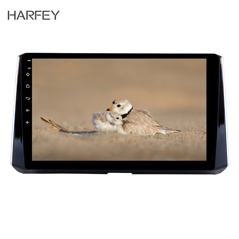 Harfey 10.1inch Car <font><b>multimedia</b></font> Player for <font><b>2019</b></font> <font><b>Toyota</b></font> <font><b>Corolla</b></font> Head unit Android 8.1 Radio GPS Navigation Support SWC Mirror Link image