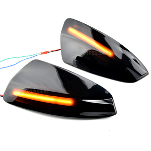 Image 4 - LED yan ayna dinamik dönüş sinyali flaşör işık için mercedes benz W204 W164 ML300 ML500 ML550 ML320 dikiz ayna lambası