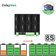 Équilibreur dégaliseur de batterie au Lithium 8S/24V QNBBM BMS pour LIFEPO4,LTO NCM LMO 18650 bricolage Pack