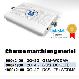 Image 2 - Lintratek 2G 3G 4GสัญญาณBooster dual band repeater GSM WCDMA 900 2100 1800 DCS LTE 4GสัญญาณBooster Amplifier