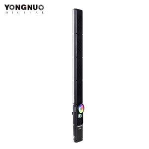 Image 3 - Yongnuo yn360 iii yn360iii bi color handheld luz de vídeo led toque ajustando 3200k  5500k rgb colortemperature com controle remoto