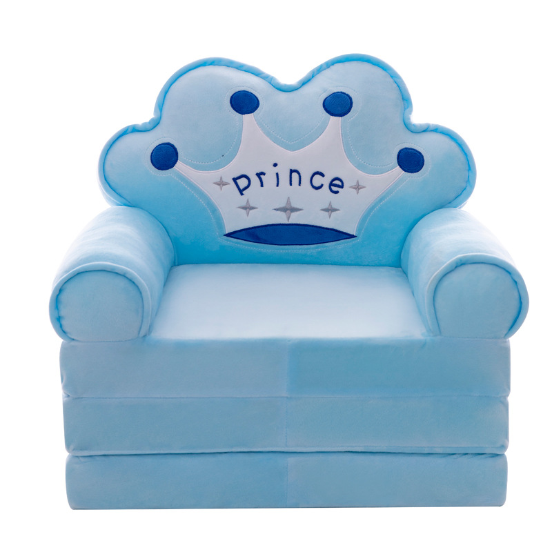Cartoon Folding Children's Small Sofa Baby Learning Chair Lazy Sofa Kindergarten Boy And Girl Stool Removable And Washable