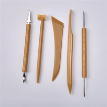 5 PC Pottery Sculpture Knives Set With Needles Professional Modeling Clay Supplies Ceramic Tools Cay Painting Hot