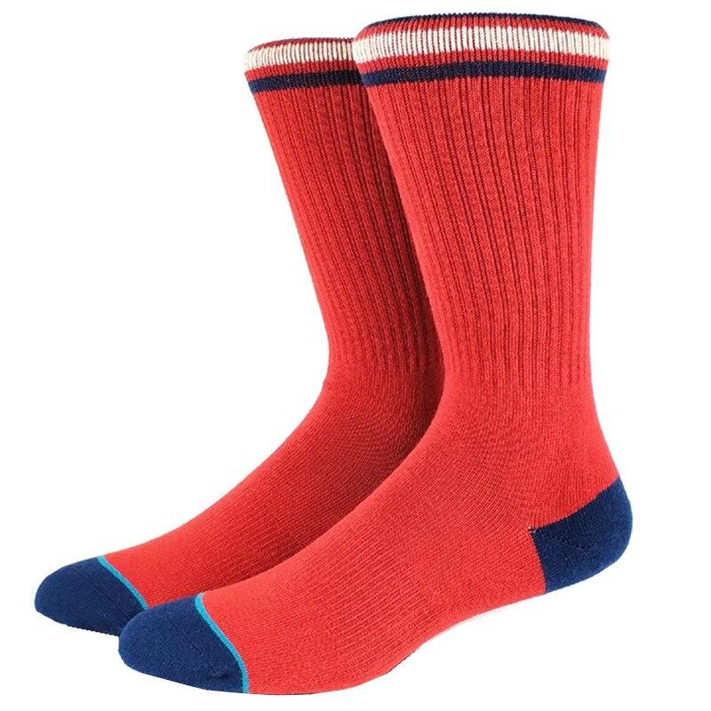 Red Skate Men Socks