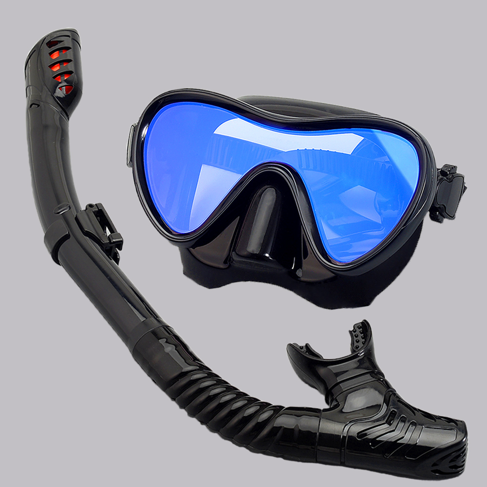 Professional Scuba Diving Masks Snorkeling Set Adult Silicone Skirt Anti-Fog Goggles Glasses Swimming Fishing Pool Equipment