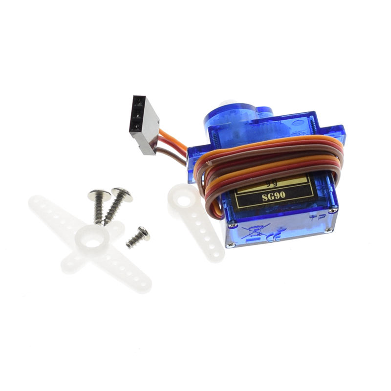 4Pcs Smart Electronics Rc Mini 9G 1.6Kg Servo Motor Sg90 For Rc 250 450 Helicopter Airplane Car Boat