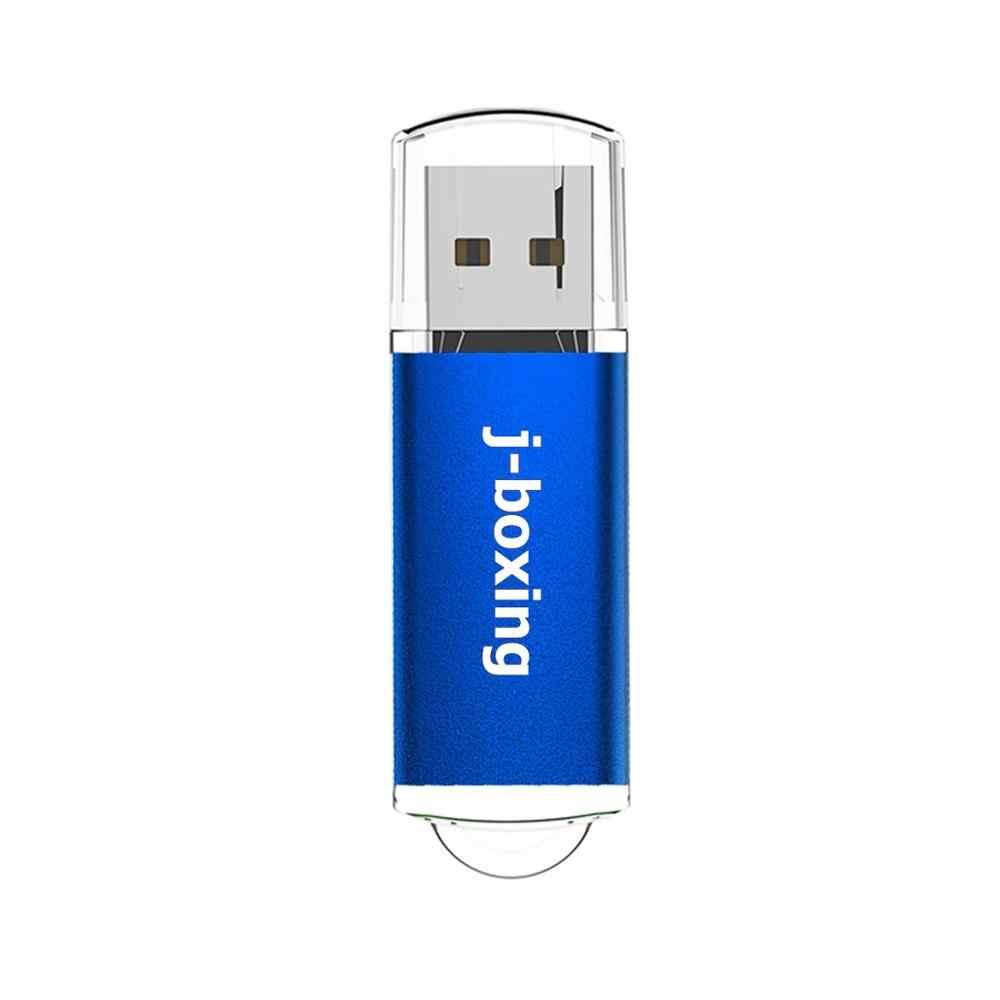 J-boxing Pendrives USB Flash Drive 16GB rectángulo USB 2,0 memoria USB Pendrives suficiente almacenamiento para PC Laptop Macbook tabletas azul